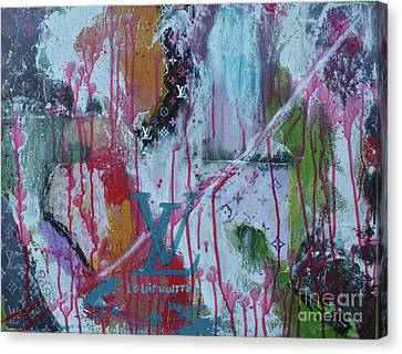 Totam Canvas Print - Louis Vuitton Abstract by To-Tam Gerwe