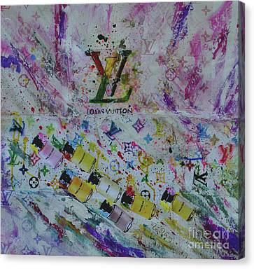 Louis Vuitton The Magnificent Seven  Canvas Print by To-Tam Gerwe