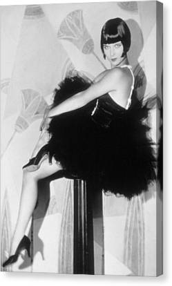 Louise Brooks, C. 1929 Canvas Print by Everett