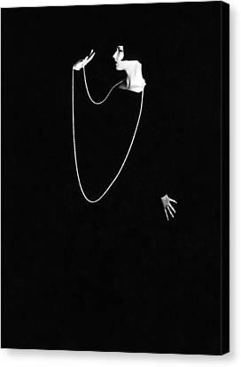 Louise Brooks, Photo By Ruth Harriet Canvas Print by Everett
