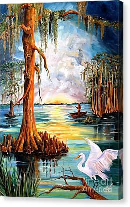 Louisiana Bayou Canvas Print by Diane Millsap