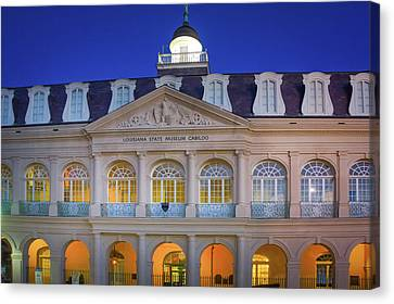 Louisiana State Museum Cabildo, New Orleans Canvas Print by Art Spectrum