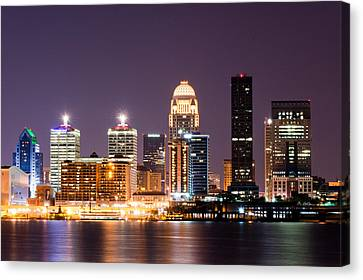 Louisville 1 Canvas Print by Amber Flowers