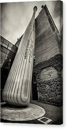 Slugger Canvas Print - Louisville Slugger Factory by Stephen Stookey