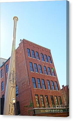 Louisville Slugger Museum Canvas Print by Nur Roy