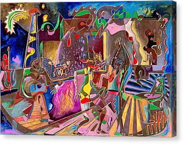 Lounge Electrika Canvas Print