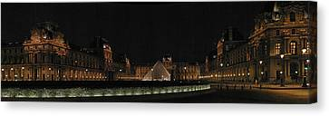 Louvre Canvas Print by Gary Lobdell