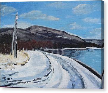Lovat's Point Canvas Print
