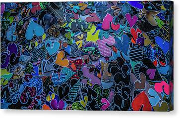 Love 4 Series 1 Canvas Print by Kenneth James