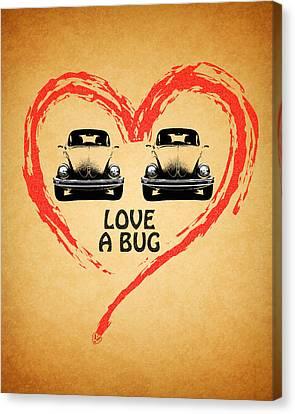 Love A Bug Canvas Print