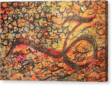 Love, A Pattern Of Life Canvas Print by Faraz Khan