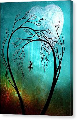 Igers Canvas Print - Love Alone by Oscar Benero Lopez
