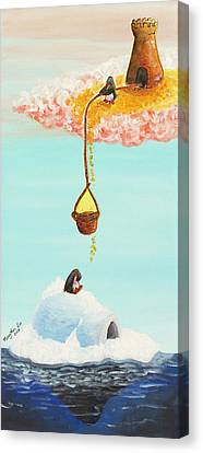 Love Always Finds A Way Canvas Print by MaryAnn Loo