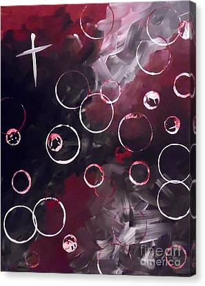 Love And Frustration Canvas Print by Jilian Cramb - AMothersFineArt