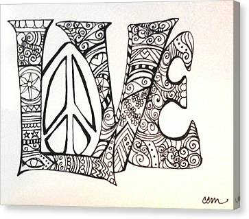 Love Bits Canvas Print