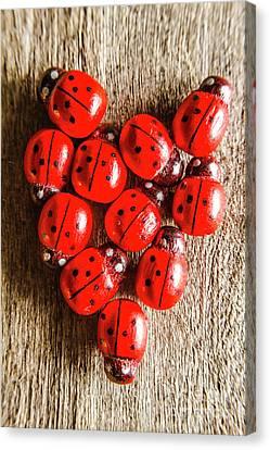 Ladybug Canvas Print - Love Bug by Jorgo Photography - Wall Art Gallery