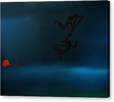 Love Dance Canvas Print by Gregory Allen Page