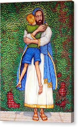 Love Canvas Print by Edward Ruth