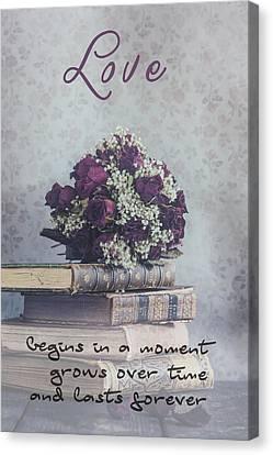 Creepy Canvas Print - Love Forever by Joana Kruse
