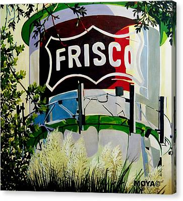 Love Frisco Canvas Print by Diana Moya