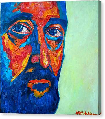 Canvas Print featuring the painting Love Him So Much by Ana Maria Edulescu