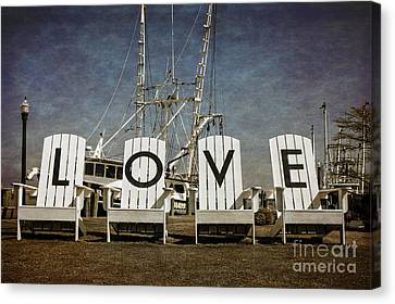 Architectural Art Canvas Print - Love In The Park by Tom Gari Gallery-Three-Photography