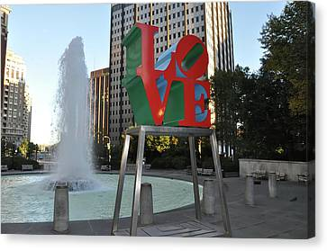 Love Is The Word Canvas Print by Bill Cannon