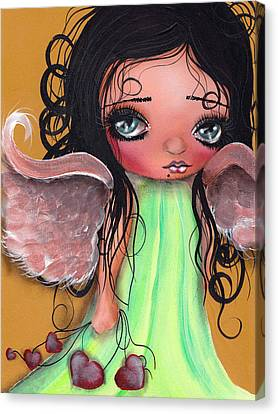 Love Keeper Canvas Print by  Abril Andrade Griffith