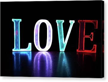 Love Lights Canvas Print
