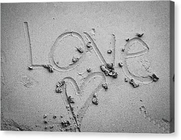 Love Canvas Print by Lillian Michi Adams