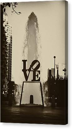 Love Love Love Canvas Print by Bill Cannon
