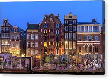 Love Me, Amsterdam Canvas Print