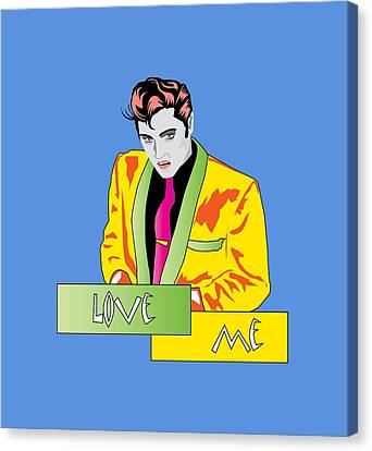 Love Me Canvas Print by Andy Donald