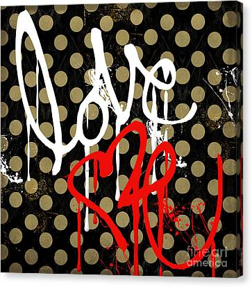 Love Me I Canvas Print by Mindy Sommers