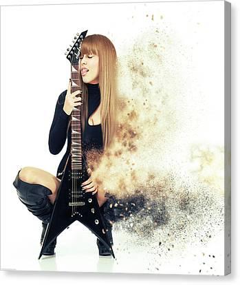 Love Music Canvas Print by Nichola Denny