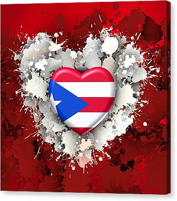 Love Puerto Rico.2 Canvas Print