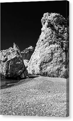 Aphroditie's Love Rocks Canvas Print by John Rizzuto