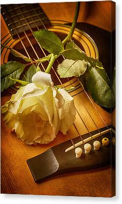 Love Song In The Making Canvas Print