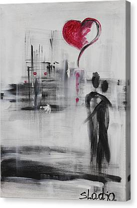 Love Story 3 Canvas Print