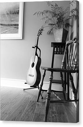 Love Strings Canvas Print