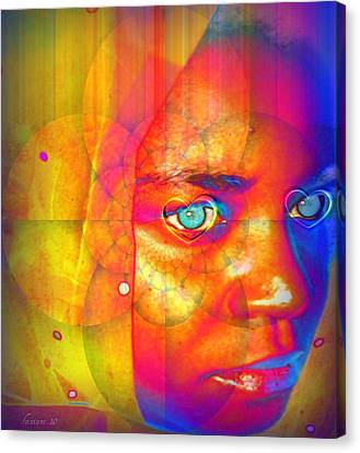 Faniart Canvas Print - Love The Arts by Fania Simon