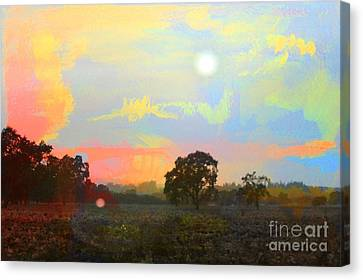 Love The Magic Hours Canvas Print by Leslie Hunziker