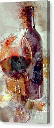 Love The Reds Canvas Print by Jon Neidert