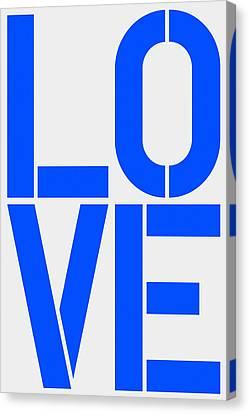 Love Canvas Print by Three Dots