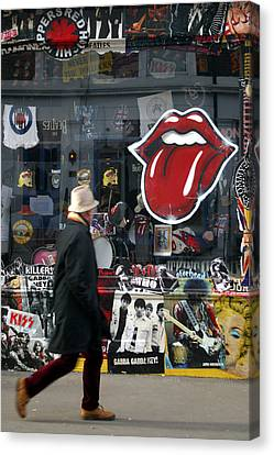 Love To Lick You Canvas Print by Jez C Self
