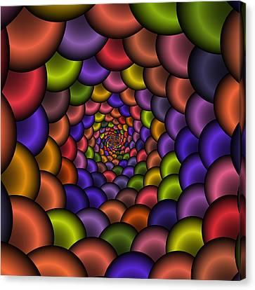 Love Tunnel 223 Canvas Print by Rolf Bertram