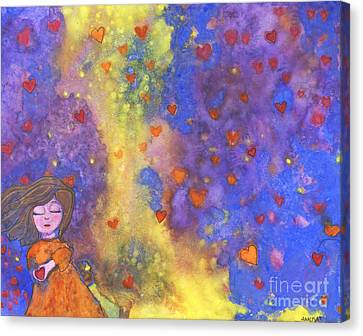 Love Will Find You Canvas Print by AnaLisa Rutstein