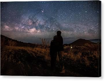 Loveing The  Universe Canvas Print by Eti Reid