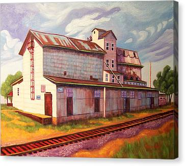Loveland Feed And Grain Mill Canvas Print