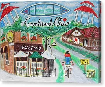 Loveland Ohio Canvas Print by Diane Pape
